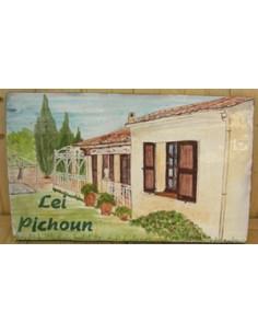 Plaque de maison Client décor Villa de particulier