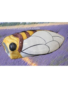 Cigale faïence céramique décor JCK (T.5)