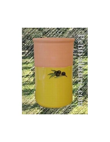 brique vin unie jaune proven al et olive noire le petit vallauris. Black Bedroom Furniture Sets. Home Design Ideas