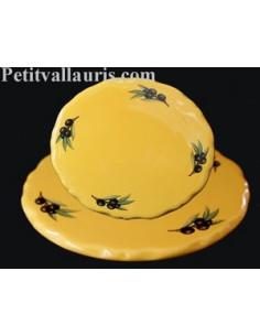Dessous de plat de style décor Tradition Vieux Moustiers bleu