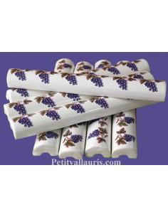 Listel large décor raisin