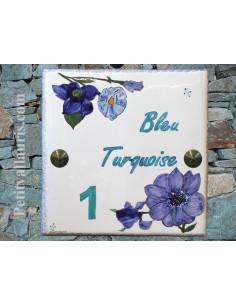 Plaque texte et décor personnalisé pour votre maison décor Dauphin