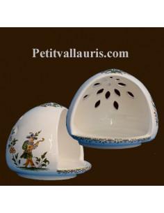 Cache éponge décor Tradition Vieux Moustiers polychrome