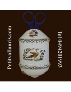 Distributeur de ficelle décor Tradition Vieux Moustiers polychrome