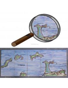 Fresque pêrsonnalisée carrelage décor panorama point de vue