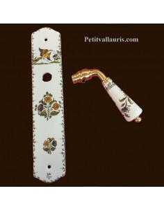 Plaque de propreté décor Tradition Vieux Moustiers