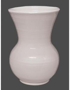 Vase en faïence blanche modèle Nadine Taille 1