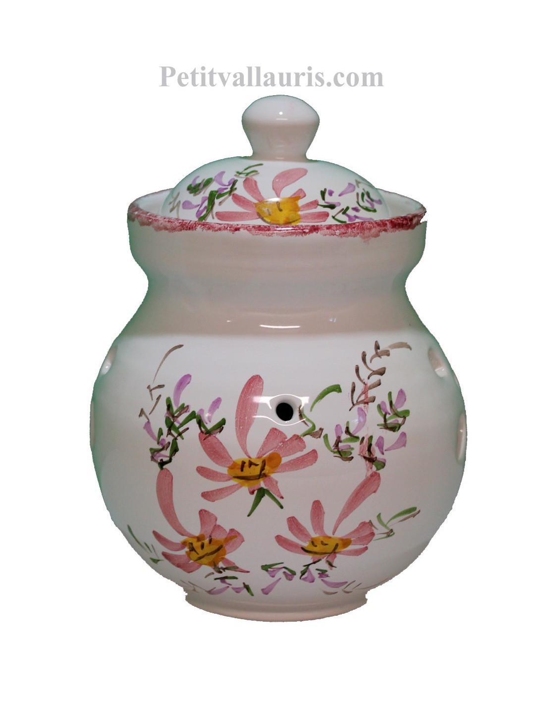 Pot conservateur ail en fa ence pour la cuisine d cor for Pots cuisine decoration