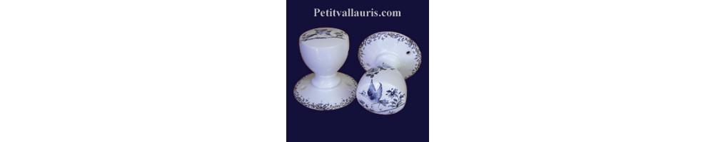 Patère et Porte peignoir en céramique fabriquée en france