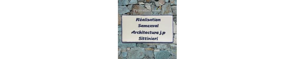 Sans décor plaque-14x28 cm-en-ceramique-emaillée