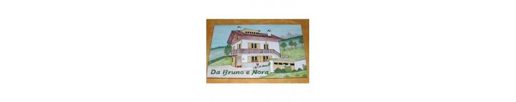 Plaque décor Montagnard