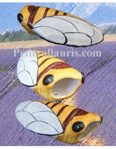 Cigale faïence céramique décor JCK (T.2)