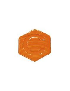 Email orange AJ61 pour faïence lot de 1 kg