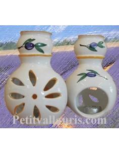 Brûle parfum décor Tradition Vieux Moustiers rose