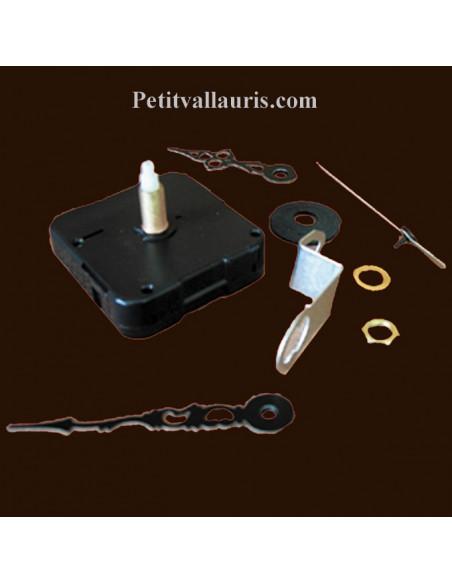 Mécanisme d'horloge à piles