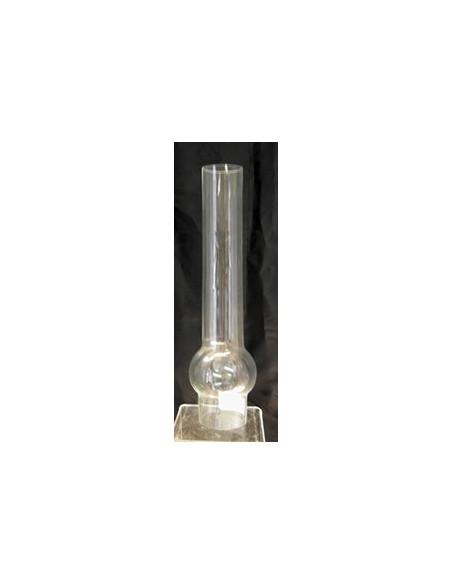 Verre de lampe à pétrole transparent