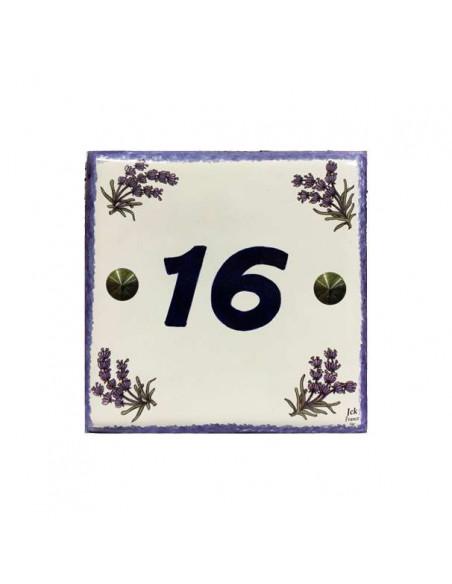 Numéro_Maison 15x15 cm inscription personnalisée