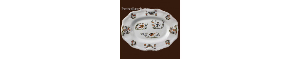 Assiettes & plats en faience