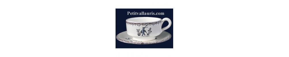 Tous la gamme petit dejeuner et tea time en faience et ceramique
