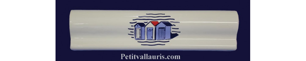 Listels décor Marine